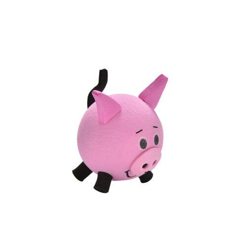 Cute Pig Eva Decorative Car Antenna Topper Balls Pink GS