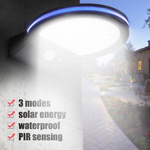 38-LED-Solarleuchte-Solarlamp-Wandleuchte-mit-Bewegungsmelder-Garten-Wegleuchte