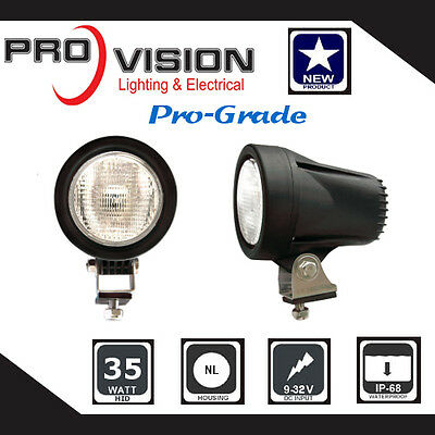 HID Xenon Work Lamp- WL400 Flood Light-12v 24v Truck,Tractor,Boat,4WD,Offroad