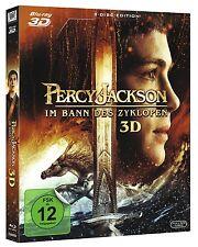 PERCY JACKSON 2: IM BANN DES ZYKLOPEN (Blu-ray 3D + Blu-ray Disc) NEU+OVP