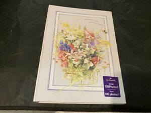 NEW-HALLMARK-MOMENTS-OF-BEAUTY-NATURE-039-S-SKETCHBOOK-PHOTO-ALBUM-BOOK-HOLDS-100