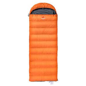 NatureHike D280 Down filled WINTER sleeping bag with hood ...