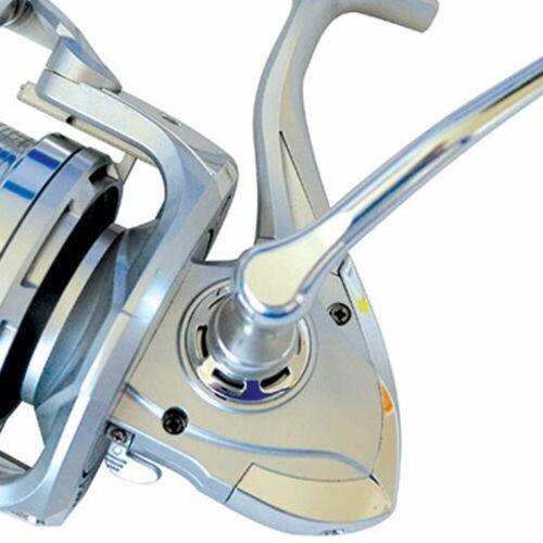 2x tronixpro OCEANIK Fixe bobine Surf Reel 8000 Silver Sea Fishing BEACH PIER