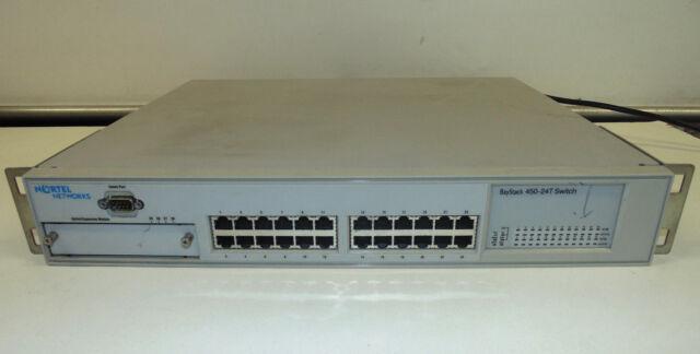 Nortel BayStack 450-24T - Switch 24 ports 10/100 + 400-ST1 Cascade Module