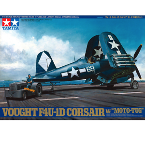 Tamiya-61085-Bought-F4U-1D-Corsair-w-034-Moto-tug-034-1-48