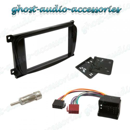 Double DIN Oval Black Facia Fascia for Ford Car Radio CD Stereo Fitting Kit