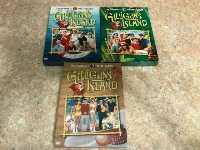Gilligans Island - The Complete Seasons 1-3 (DVD, 2005, 9-Disc Set)