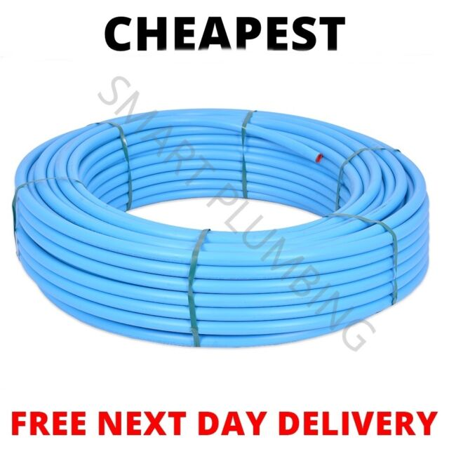 20mm x 50mtr Polypipe Cold Water Blue MDPE Pipe