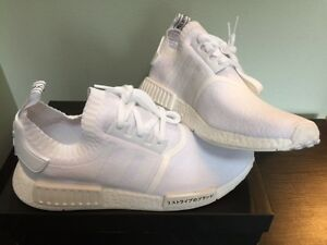 *NEW* WHITE NMD R1 GUM PACK! PRIMEKNIT WITH GIVEAWAY