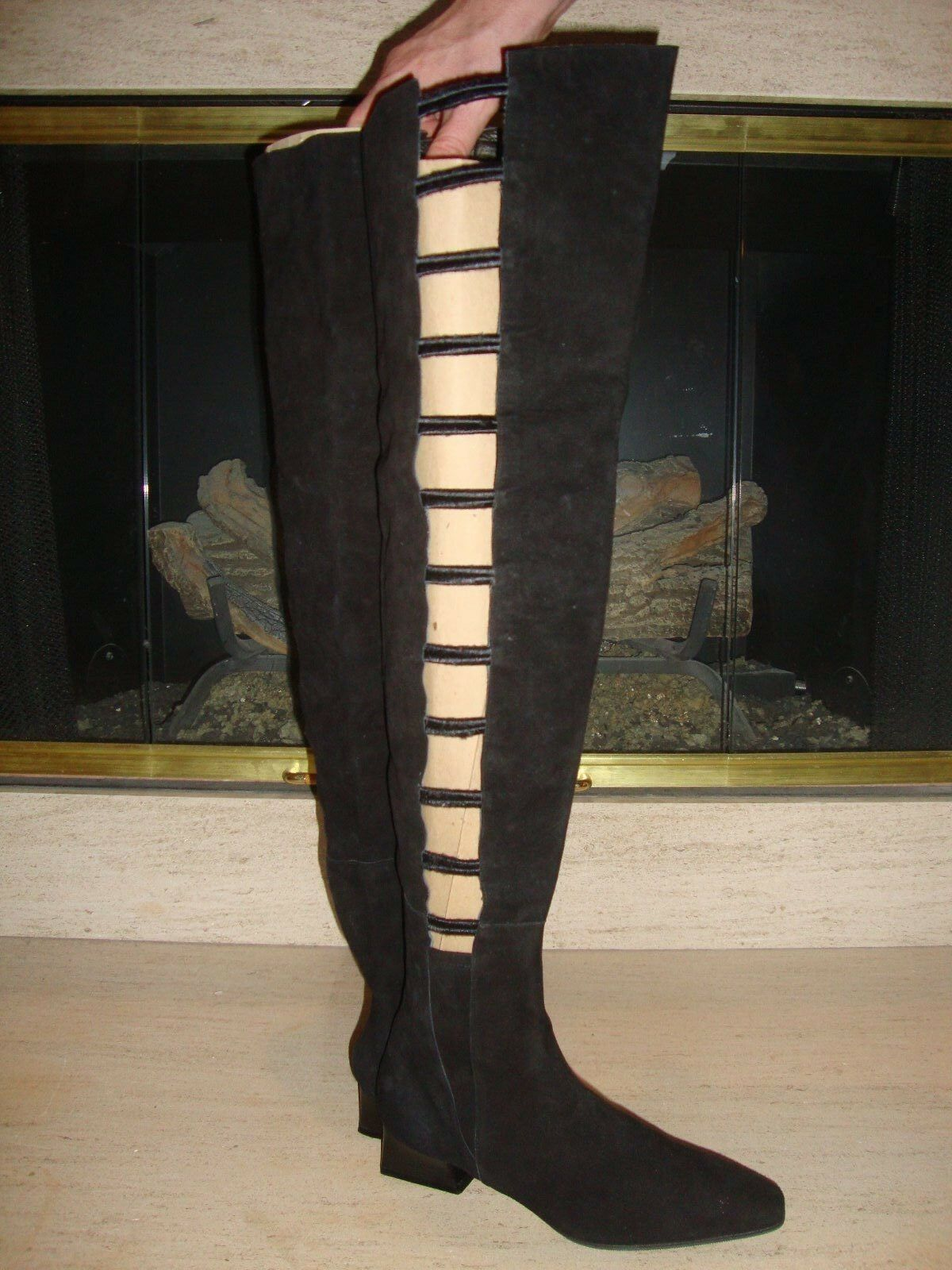 CRAZY COOL, SUPER RARE, SEXY NEW NORDSTROM OTK SUEDE BOOTS (NWOB)