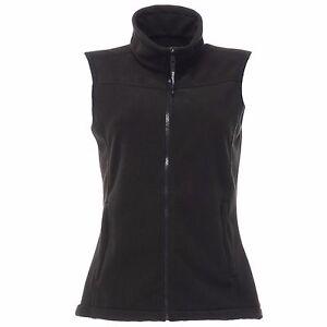 Femmes-Regatta-Haber-II-Bodywarmer-Polaire-RG184-Noir-Bleu-Marine