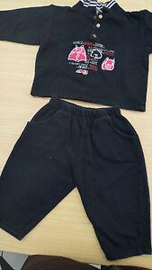 Anzug Zweiteiler Baby Gr. 80 Sweatshirtstoff marine - Deutschland - Anzug Zweiteiler Baby Gr. 80 Sweatshirtstoff marine - Deutschland