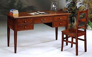 Scrivania Ufficio Legno Massello : Scrivania legno massello arredamento mobili e accessori per la