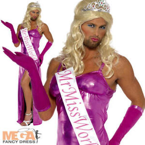 Image is loading Men-039-s-Mr-Miss-World-Stag-party-  sc 1 st  eBay & Menu0027s Mr Miss World Stag party Fun Fancy Dress Bond Girl Drag ...