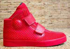 Image is loading Nike-Flystepper-2K3-University-Red-Chrome-VERY-LIMITED-