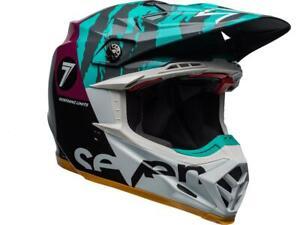 Casque-Motocross-BELL-Moto-9-Flex-Seven-zone-Gloss-Noir-Aqua-violet