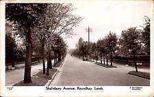 Roundhay, Leeds. Shaftsbury Avenue  # 7835 by Matthews.