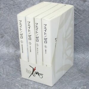 FATE-ZERO-Novel-Complete-Set-1-4-in-Case-Nitroplus-TYPE-MOON-Japan-Book