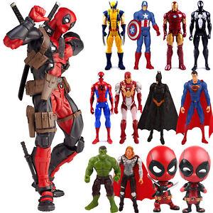 Marvel-Avengers-Super-Hero-Spiderman-Hulk-Iron-Man-Action-Figure-Toy-Collection