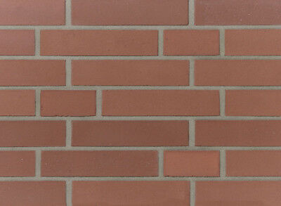 Baustoffe & Holz ZuverläSsig Strangpress-verblender Df Bh1046 Rot Vormauersteine Klinker GroßEs Sortiment Klinker