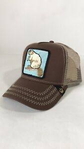 ce53f8ab Image is loading Goorin-Bros-Beaver-Animal-Farm-Mesh-Trucker-Hat-
