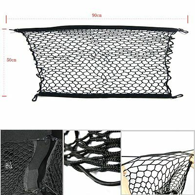 Durable Nylon Car Trunk Rear Elastic Mesh Cargo Net For HONDA 2012-2014 Vehicle