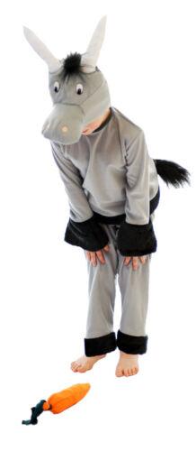 Costume Bambini Asino nativety Mangiatoia Barn Natale Xmas Play accoppiamenti 2yrs-12