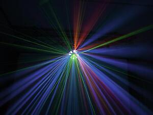 EUROLITE-LED-FE-1500-Hybrid-Laserflower-Laser-Klasse-2M-Derby-und-Strobe-DISCO