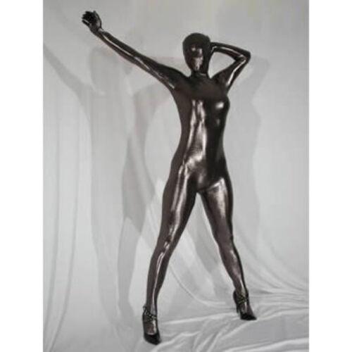Super Springy Body latex Spandex Catsuit full head