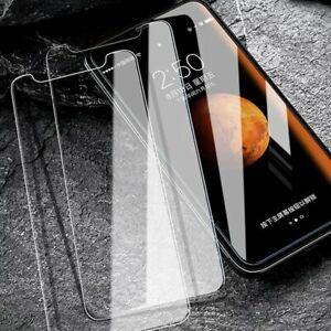 Vitre verre trempe film protection ecran pour iPhone 5/5S/5C/SE/6S/7/8/X/XS/XR