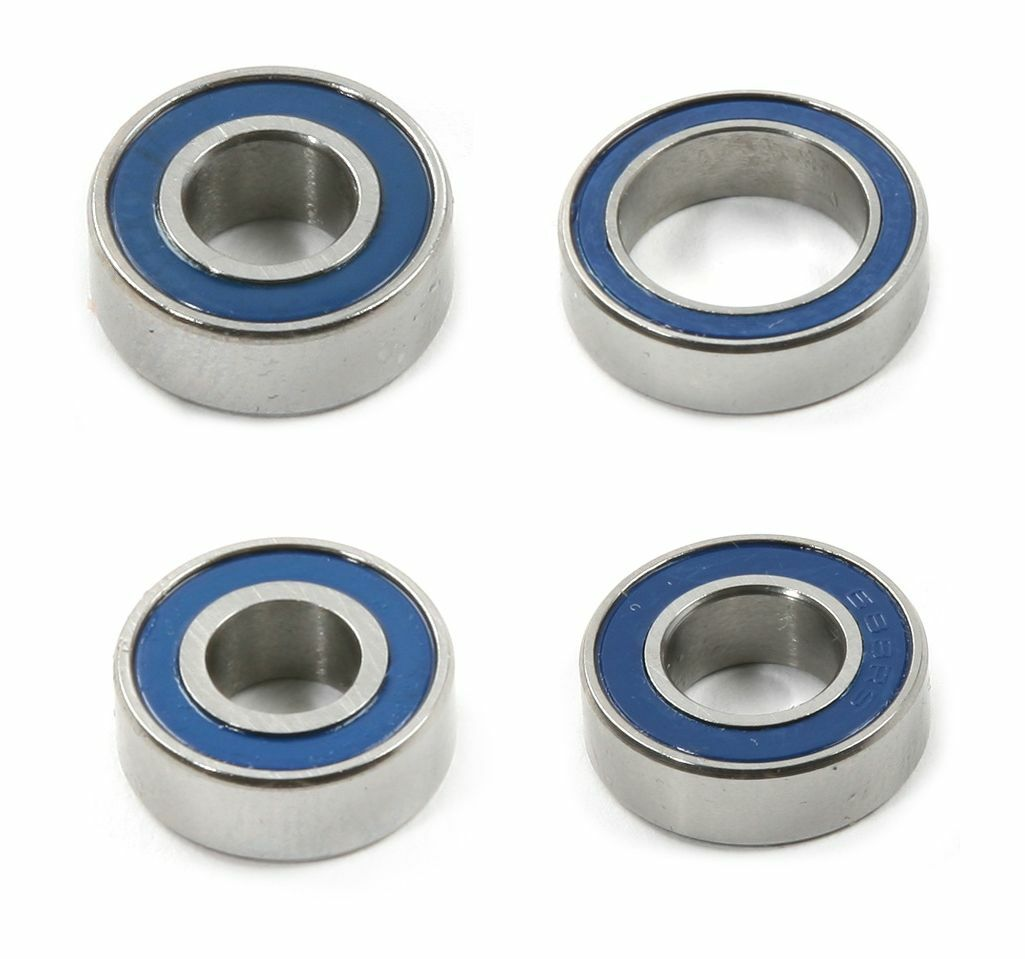 CUSCINETTI a sfere radiale con copertura in gomma dimensioni 8x14x4mm o 14x8x4mm   mr148-2rs