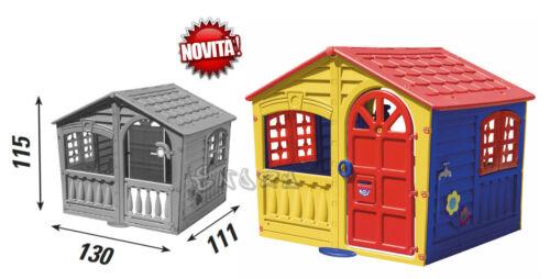 casa grande per 5 bambini per giardino altezza 115 cm giocattoli aperto