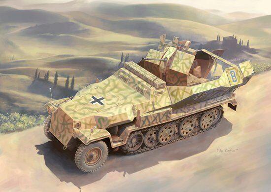 Dragon 6592 1 35 Sd.Kfz.251 17 Ausf.C (2 in 1)