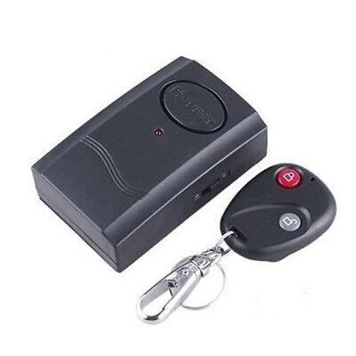 Security Wireless Remote Control Vibration Car Motorcycle Detector Burglar Alarm