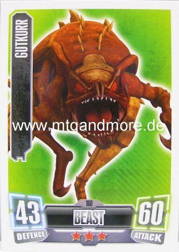 Force Attax série 2 Gutkurr #160