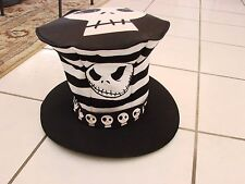 Tim Burton's The Nightmare Before Christmas Jack SKELLINGTON Tall  Hat Adult