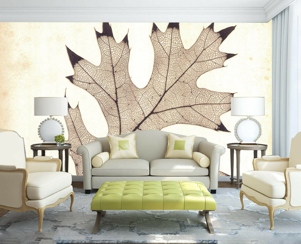 3D Leaf Specimens 71 Wall Paper Murals Wall Print Wall Wallpaper Mural AU Kyra
