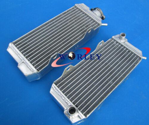 L/&R For HONDA ATC250R ATC 250R ATC250 R 1985 1986 Aluminum Radiator BLUE Hose