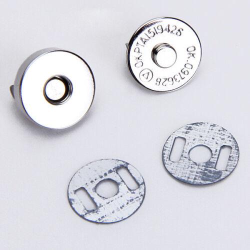 10 Sätze Magnetische Tasche Verschlüsse Verschluss Nähen Knöpfe Reparatur