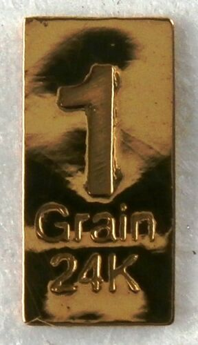 1//15 GRAM =1Gn 24K PURE GOLD .999 FINE BENCHMARK STRATEGIC METALS/& CERT BXa