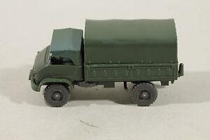 487 Typ 4C Wiking UNIMOG S Militär 1962 - 1974 / komplett flaschengrün
