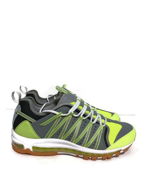 Clot X Nike Air Max 97 Haven Volt Dark Grey Green Platinum Ao2134 700 Sz 13
