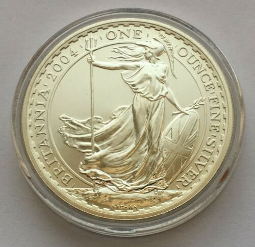 2017 GREAT BRITAIN BRITANNIA 2 POUNDS 1 OZ FINE SILVER COIN MINT UNCIRCULATED