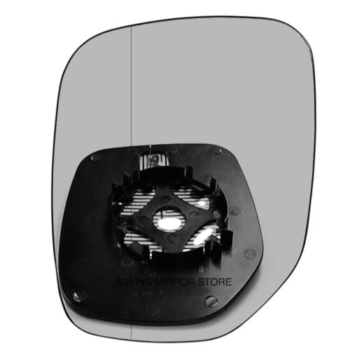 Left side for Peugeot Partner 96-07 Wide Angle heated wing mirror glass clip on