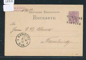 28872) Bahnpost L3 Flensburg Hambourg Cours I, Ga 1882-afficher Le Titre D'origine Nombreux Dans La VariéTé