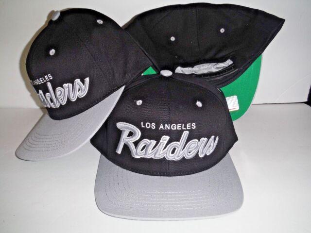 38fef13ab Los Angeles Raiders Script 3D Snapback NEW Authentic LA Hat Oakland Cap NFL