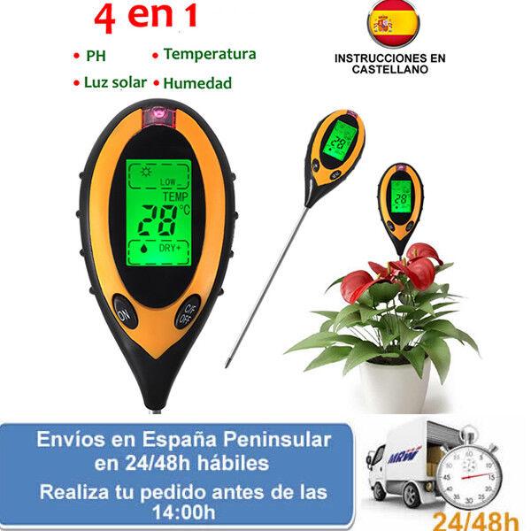 fino al 60% di sconto Medidor digital ph humedad luz y temperatura para para para plantas (Envio express)  prima qualità ai consumatori
