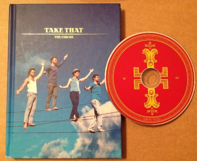 Take That - The Circus Deluxe Ltd Edition Hardback Book & Cd Set Gary Barlow
