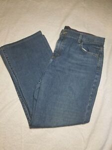 J-Crew-Size-14-x-28-034-inseam-Straight-leg-Mid-rise-Medium-wash-Womens-jeans