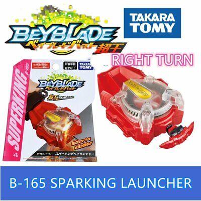 Beyblade Burst B165 B166 Sparking Bay Launcher LR Right Left Set Release 0425